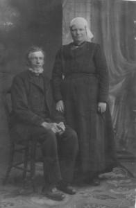 Jan Douwes Mennema en Martje