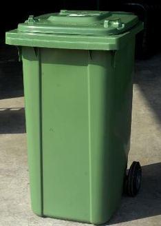 Lediging groene container