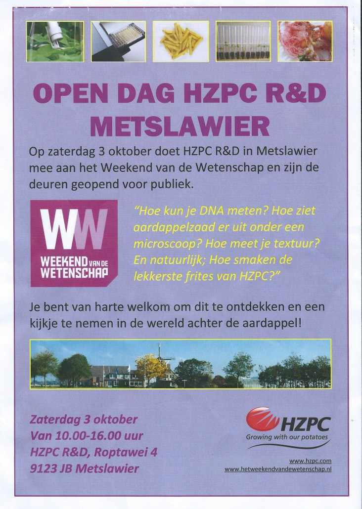Opendag HZPC 2015