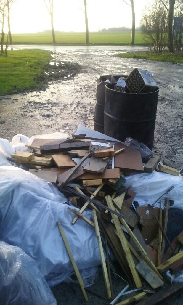Afval Bietenplaats Niawier