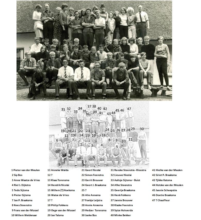 Foto_omstreeks_1967_Meisjes_Club_Maria_en_Jongensclub_Samuël_