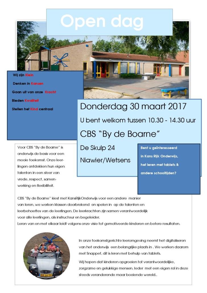 Open Dag By de Boarne 30 maart 20171