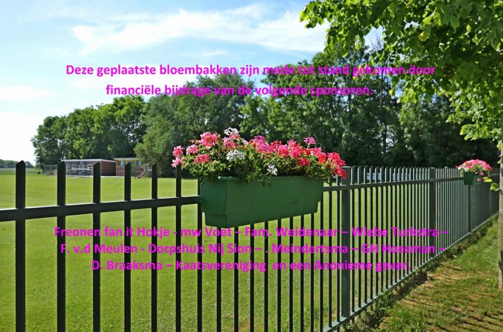 Sposoren bloembakken