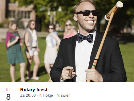 Rotary feest