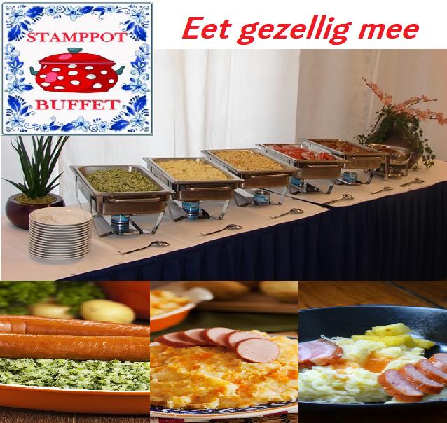 Stampot buffet eet gezellig mee