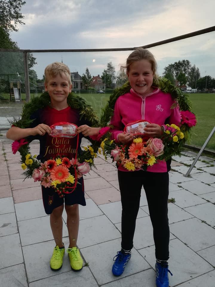 1e prijs Antje Wiersma en Renke Jakob Cuperus