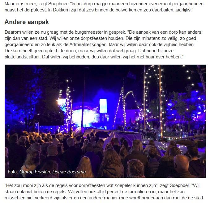 2018_09_12_08_41_16_Jeugd_Niawier_wil_minder_strenge_regels_bij_dorpsfeest_Omrop_Fryslân