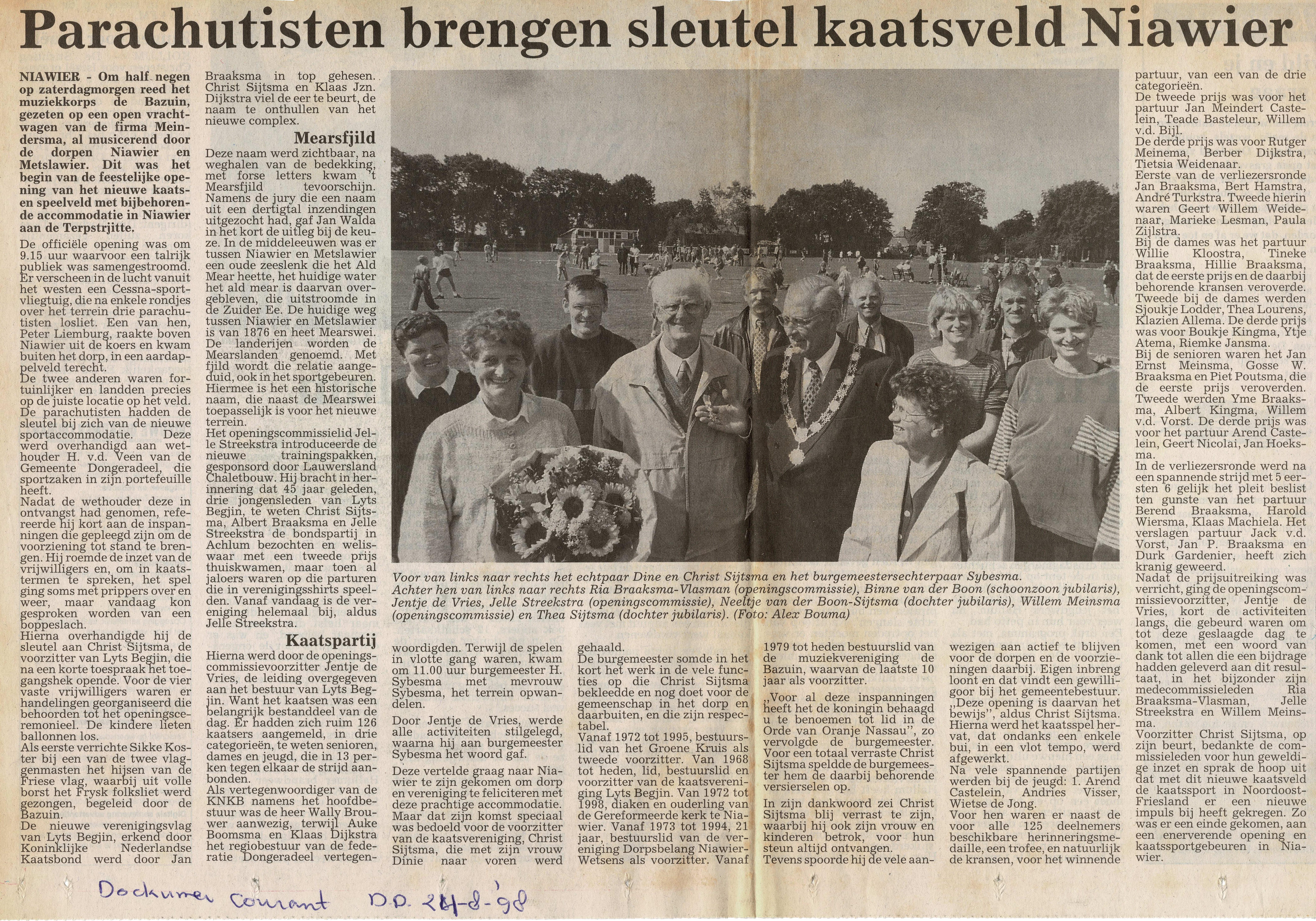 1998-08-24 Dockumer Courant Kaatsveld
