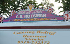 Hoesman open voor afhaal, LET OP TOT 20.30 UUR